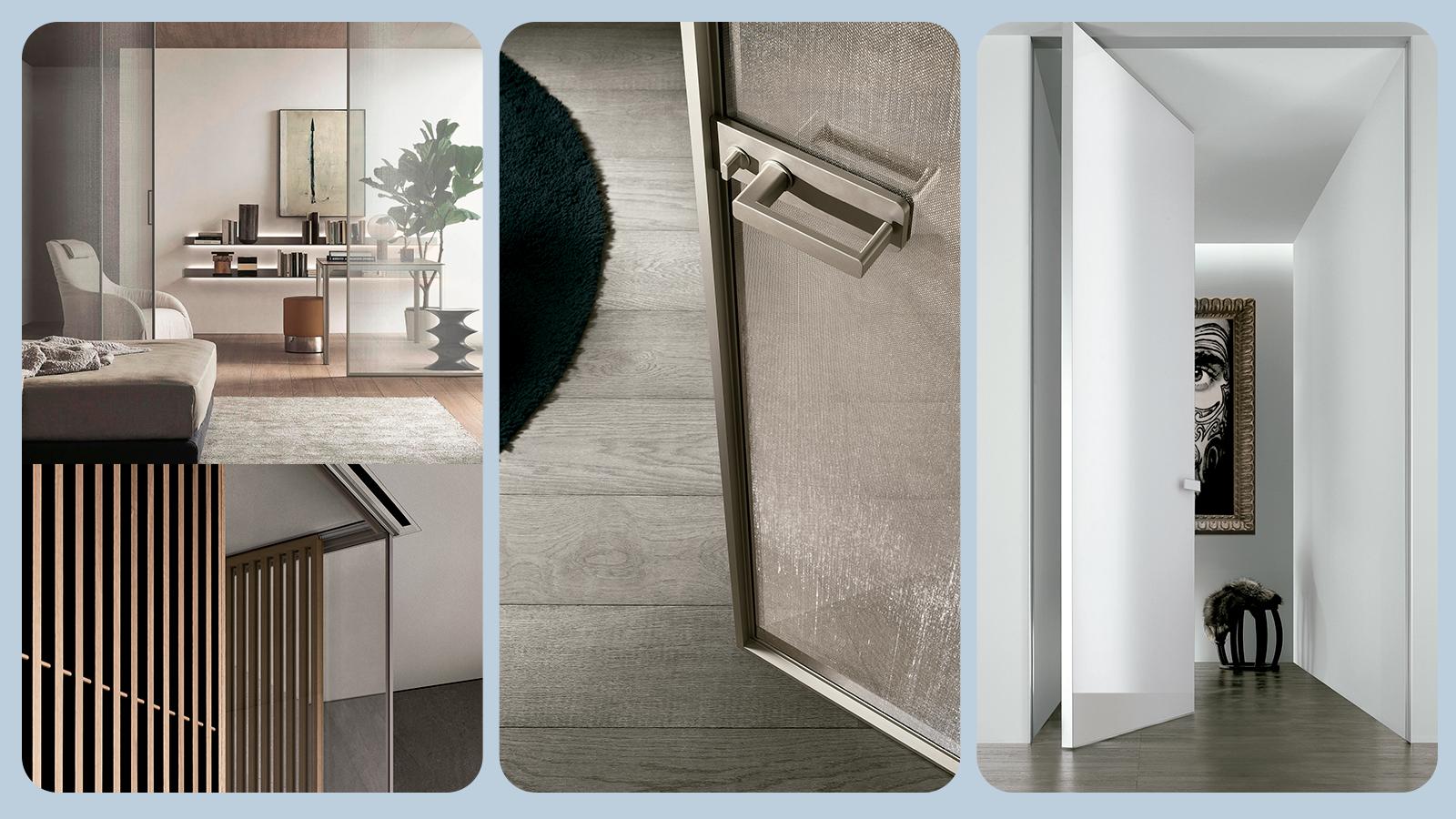 Estética y diseño logrados con puertas prefabricadas